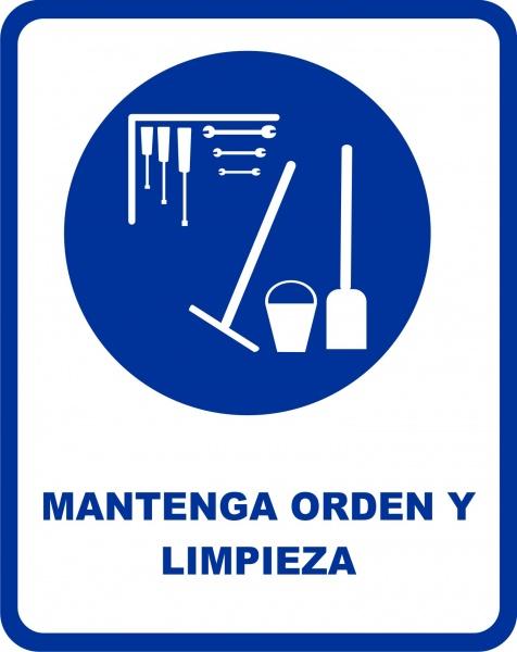 mantenga orden y limpieza etinca com etiquetas integrales rcm